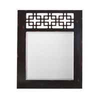 Kichler 78116 Fretwork 36 X 30 inch Hand Painted Mirror Home Decor, Rectangular