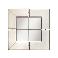 Glenn 30 X 30 inch Antique Mirror Mirror Home Decor, Square