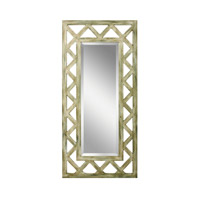 Kichler 78135 Lattice 50 X 24 inch Hand Painted Mirror Home Decor, Rectangular