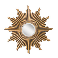 Kichler Lighting Burst Mirror in Antique Gold 78137 photo thumbnail