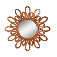Kichler 78145 Spice 40 X 40 inch Clear Mirror Home Decor, Circular