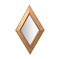 Kichler Lighting Rhombus Mirror in Wood 78149