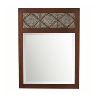Clark 40 X 30 inch Hand Painted Mirror Home Decor, Rectangular