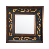 Kichler 78159 Signature 30 X 30 inch Wood Wall Mirror Home Decor, Square photo thumbnail