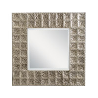 Kichler 78192AP Missoula 28 X 28 inch Antique Pewter Wall Mirror Home Decor, Square photo thumbnail
