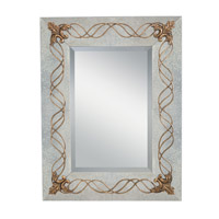 Ferne 42 X 32 inch Hand Painted Mirror Home Decor, Rectangular
