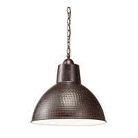 Kichler 78200 Missoula 1 Light 14 inch Bronze Pendant Ceiling Light in Standard photo thumbnail