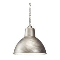 Kichler 78200AP Missoula 1 Light 14 inch Antique Pewter Pendant Ceiling Light in Standard