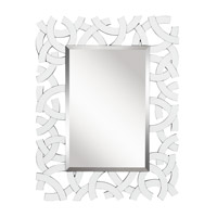 Kichler 78207 Westwood Zeeba 44 X 34 inch White Mirror Home Decor, Rectangular