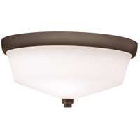 Langford 2 Light 13 inch Olde Bronze Flush Mount Ceiling Light