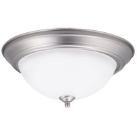 Kichler 8112NILEDR Signature LED 13 inch Brushed Nickel Flush Mount Ceiling Light