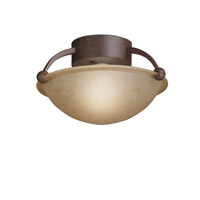 Kichler Lighting Signature 1 Light Semi-Flush in Tannery Bronze 8404TZ photo thumbnail