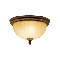 Kichler Lighting Northam 2 Light Flush Mount in Lincoln Bronze 8523LBZ