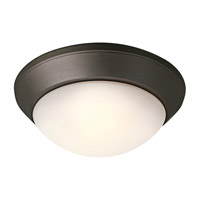 Kichler Lighting Ceiling Space 2 Light Flush Mount in Olde Bronze 8882OZ photo thumbnail