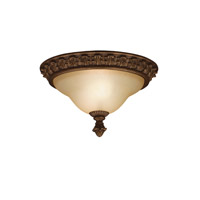 Kichler Lighting Cheswick 2 Light Flush Mount in Parisian Bronze 8897PRZ photo thumbnail