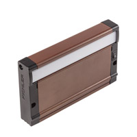 8U Series 7 inch Bronze Textured LED Under Cabinet Lighting