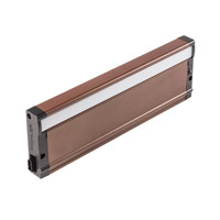 8U Series 120V 13 inch Bronze Textured LED Under Cabinet Lighting