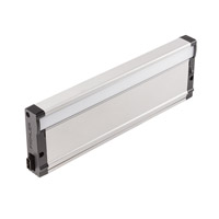8U Series 13 inch Nickel Textured LED Under Cabinet Lighting in 12in, 3000K