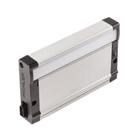 8U Series 7 inch Nickel Textured LED Under Cabinet Lighting