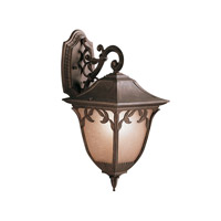Kichler Lighting Lynnewood Gardens 1 Light Outdoor Wall Lantern in Legacy Bronze 9011LZ photo thumbnail