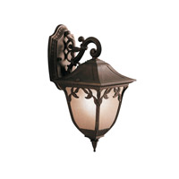 Kichler Lighting Lynnewood Gardens 1 Light Outdoor Wall Lantern in Legacy Bronze 9013LZ photo thumbnail