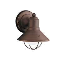 Kichler 9021OZ Seaside 1 Light 7 inch Olde Bronze Outdoor Wall Lantern