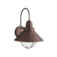 Kichler 9023OZ Seaside 1 Light 14 inch Olde Bronze Outdoor Wall Lantern