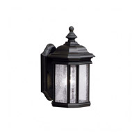 Kichler Lighting Kirkwood 1 Light Outdoor Wall Lantern in Black (Painted) 9028BK
