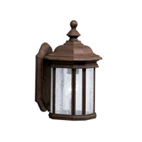Kichler Lighting Kirkwood 1 Light Outdoor Wall Lantern in Tannery Bronze 9028TZ photo thumbnail