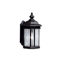 Kichler Lighting Kirkwood 1 Light Outdoor Wall Lantern in Black (Painted) 9029BK