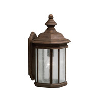 Kichler Lighting Kirkwood 1 Light Outdoor Wall Lantern in Tannery Bronze 9029TZ photo thumbnail