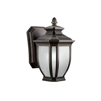 Kichler 9039RZ Salisbury 1 Light 10 inch Rubbed Bronze Outdoor Wall Lantern photo thumbnail