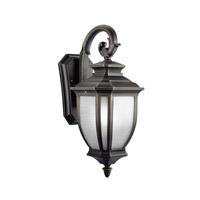 Kichler 9040RZ Salisbury 1 Light 19 inch Rubbed Bronze Outdoor Wall Lantern