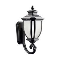 Kichler 9041BK Salisbury 1 Light 19 inch Black Outdoor Wall Lantern