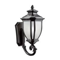 Kichler 9042BK Salisbury 1 Light 24 inch Black Outdoor Wall Lantern