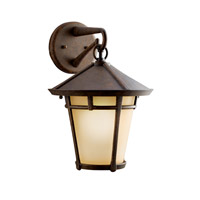 Kichler Lighting Melbern 1 Light Outdoor Wall Lantern in Aged Bronze 9053AGZ