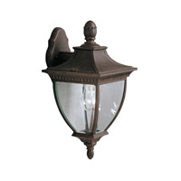 Kichler Lighting Amesbury 1 Light Outdoor Wall Lantern in Tannery Bronze w/ Gold Accent 9062TZG photo thumbnail