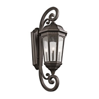 Courtyard 4 Light 47 inch Rubbed Bronze Outdoor Wall - Xlarge