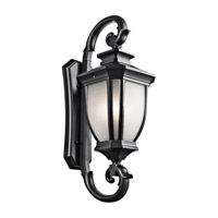 Kichler Salisbury 4 Light Outdoor Wall - Xlarge in Black (Painted) 9099BK