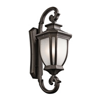 Salisbury 4 Light 42 inch Rubbed Bronze Outdoor Wall - Xlarge