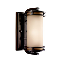 Kichler Lighting Hendrik 1 Light Outdoor Wall Lantern in Textured Architectural Bronze 9100AZT photo thumbnail