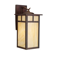 Alameda 1 Light 15 inch Canyon View Outdoor Wall Lantern