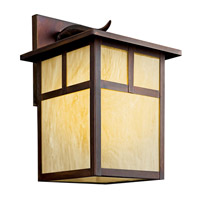 Kichler Lighting Alameda 1 Light Fluorescent Outdoor Wall Lantern in Canyon View 9150CVFL photo thumbnail