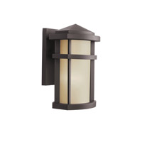 Kichler 9166AZ Lantana 1 Light 10 inch Architectural Bronze Outdoor Wall Lantern