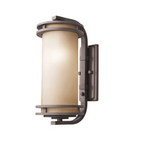 Kichler Lighting Hendrik 1 Light Outdoor Wall Lantern in Textured Architectural Bronze 9203AZT photo thumbnail