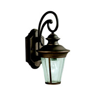 Kichler Lighting Eau Claire 1 Light Outdoor Wall Lantern in Olde Bronze 9346OZ