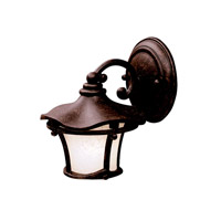 Kichler Lighting Cotswold 1 Light Outdoor Wall Lantern in Aged Bronze 9351AGZ photo thumbnail