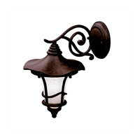 Kichler Lighting Cotswold 1 Light Outdoor Wall Lantern in Aged Bronze 9352AGZ photo thumbnail