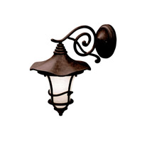 Kichler Lighting Cotswold 1 Light Outdoor Wall Lantern in Aged Bronze 9353AGZ