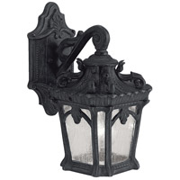 Tournai 1 Light 11 inch Textured Black Outdoor Wall Lantern